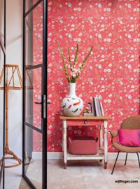 Eijffinger Pip 4 375004 bloemen oud roze
