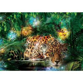 Fotobehang poster 2381 dieren tijger jungle