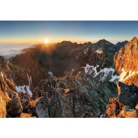 Fotobehang poster 3351 landschap bergen alpen