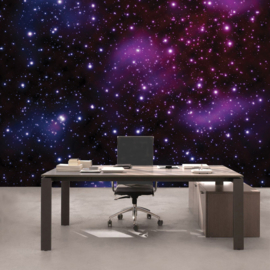 Fotobehang poster 0499 sterren hemel stelsel melkweg galaxy ruimte