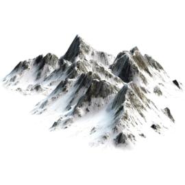 Fotobehang poster 3403 bergen bergtop sneeuw alpen