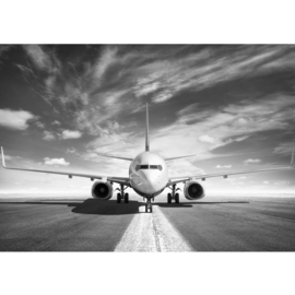Fotobehang poster 4508 vliegtuig airbus boeing jumbojet