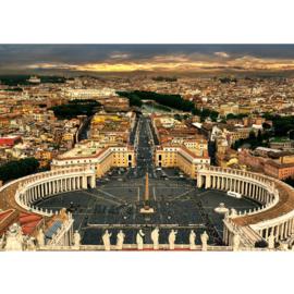 Fotobehang 1900 Italie Rome sint-pieterplein vaticaanstad
