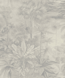 Kerala 551136 zilver blad jungle vintage