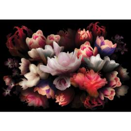 Fotobehang poster 4324 bloemen boeket schilderij