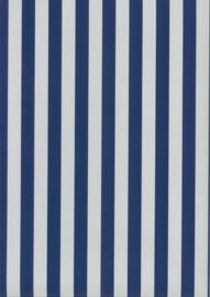 67103-2 strepen blauw wit