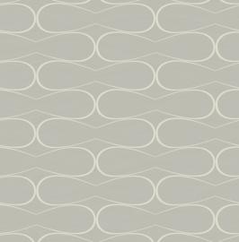 Walter WA2502 grafisch patroon licht grijs parelmoer ( met gratis lijm )