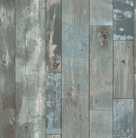 Dutch Trilogy FD 24053 planken  aqua blauw groen blauw