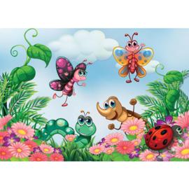 Fotobehang poster 4525 kinderkamer vlinder