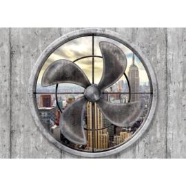 Fotobehang 2272 USA  New York ventilator empire state building