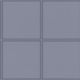 Club 419047 leer blokken grijs stiksel