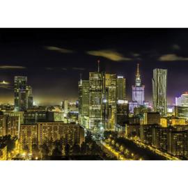 Fotobehang 1705 Polen Warschau skyline