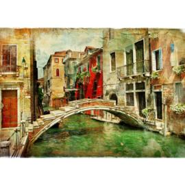Fotobehang poster 0055 italie venetie brug