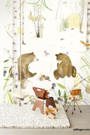Eijffinger Chit chatting bears 364162 beren