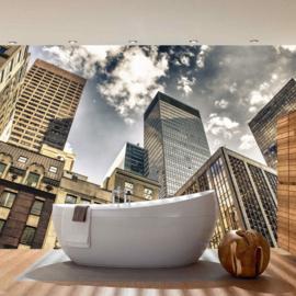 Fotobehang poster 0054 wolkenkrabber new york