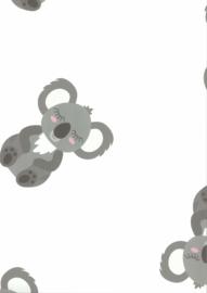67109-1 beertjes beren grijs wit roze baby