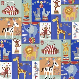 BE My adventures ma66106 circus rood geel blauw kinder / baby