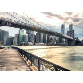Fotobehang poster 0043 skyline new york big apple