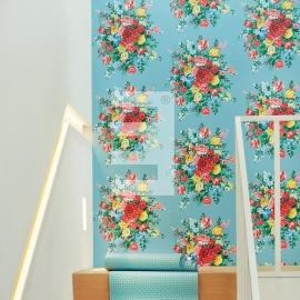 Eijffinger pip studio 341045 bloem blauw