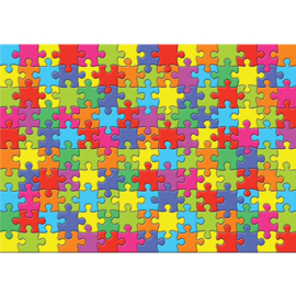 Fotobehang poster 3240 puzzel