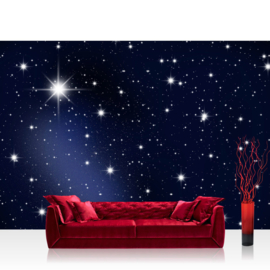 Fotobehang poster 0028 sterren hemel ruimte space galaxy