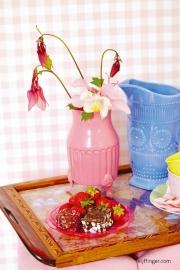 Eijffinger Rice 359083 ruitje roze wit blokje