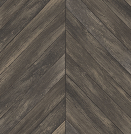 Ducth Trilogy FD24008 planken noorse punt visgraat bruin