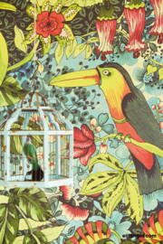 Eijffinger Birds in paradise 364121 green