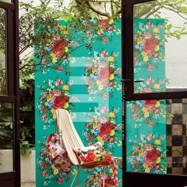 Eijffinger pip studio 341046 bloem groen , dutch painters green