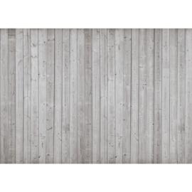 Fotobehang poster 2080 hout planken grijs