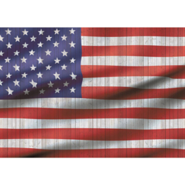 Fotobehang 2624 vlag USA Amerika starts stripes