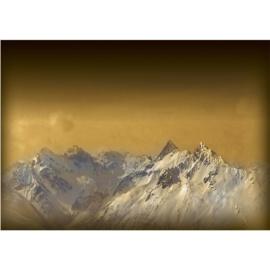 Fotobehang poster 1622 bergen sneeuw top