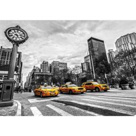 Fotobehang taxi geel 2661 USA