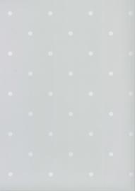67105-1 stippen grijs wit