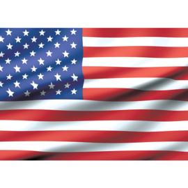 Fotobehang 2570 vlag USA Amerika stars stripes