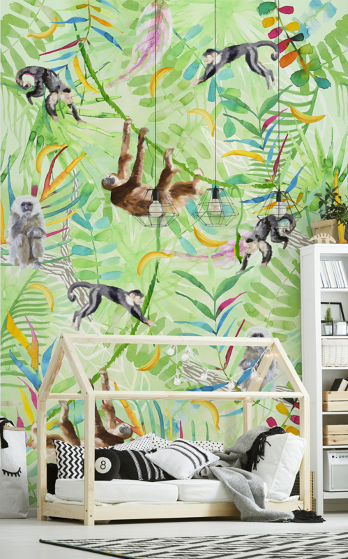 Kay & Liv ink7045 jungle apen monkey