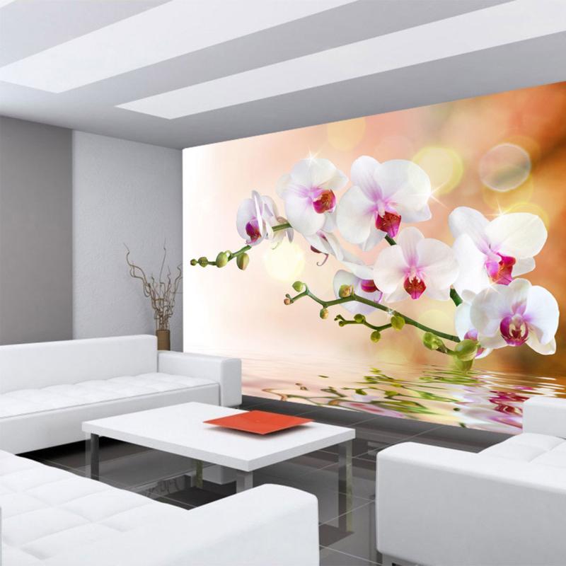 Fotobehang poster 0200 bloemen orchidee roze