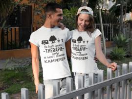 Kamperen  Tshirt dames