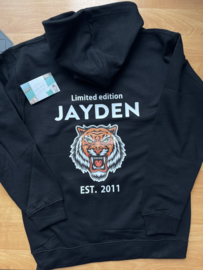 Hoodie  limited edition tijger
