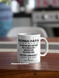 BONUS papa beker