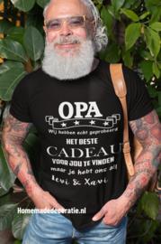 Cadeau papa/opa  tshirt