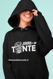 Irri-tante Hoodie met skull zwart