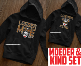 Moeder & Kind set loedermoeder /kind