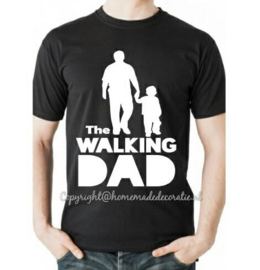 the walking dad  2 tshirt