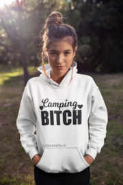 Camping bitch hoodie