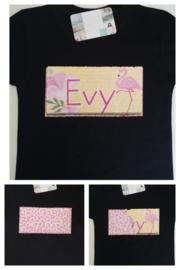 Tover  shirt of trui met naam Flamingo
