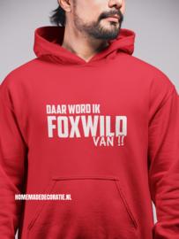 Foxwild  hoody dames/heren