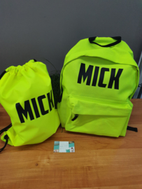 back to school deal neon
