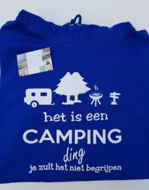 Camping  ding hoody volwassen