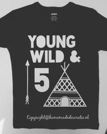 young wild & leeftijd maat 62 tm 92